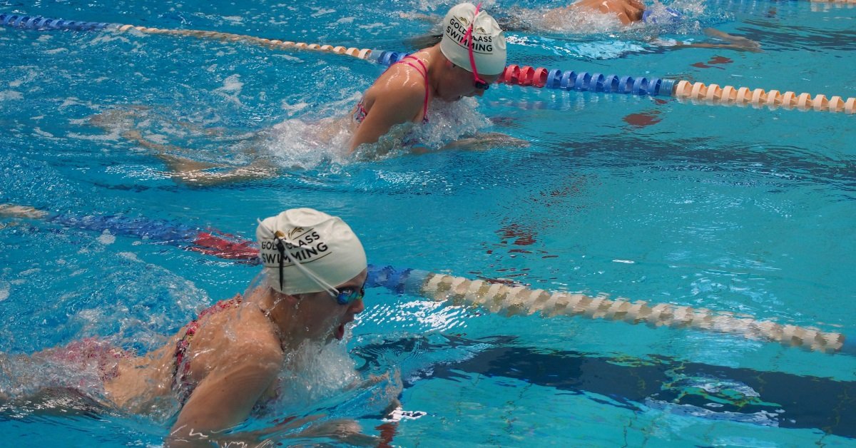 Specific training sets for swimmers