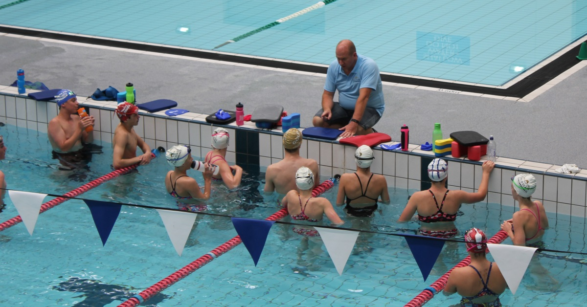 Time management in swimming