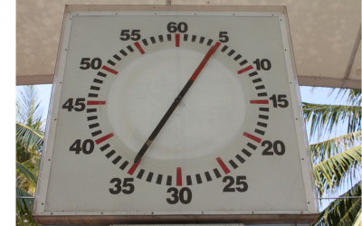 Pace Clocks in the Training Environment