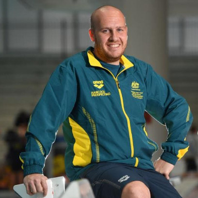 Gold Class Swimming contributor Shaun Curtis